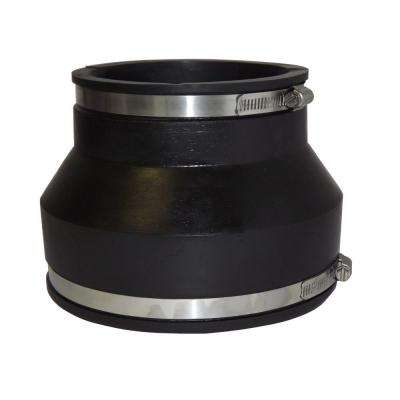 6 in. x 4 in. PVC A.C., Fibre or D.I. to A.C., Fibre or D.I. Flexible Coupling