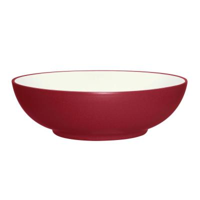 Colorwave 64 oz. Raspberry Round Vegetable Bowl
