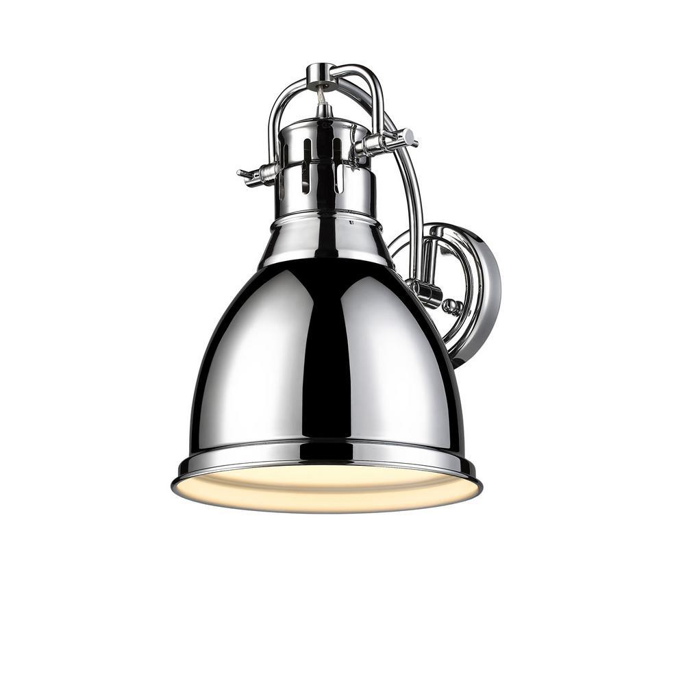 Duncan Collection 1-Light Chrome Sconce
