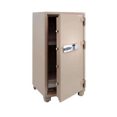 8.5 cu. ft. All Steel 2 Hour Fire Safe with Electronic Lock, Tan