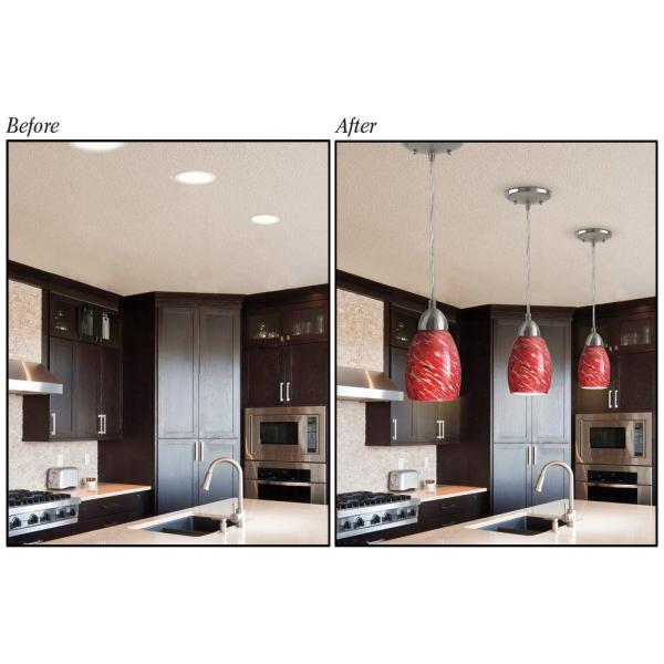 Recessed Light Converter For Pendant