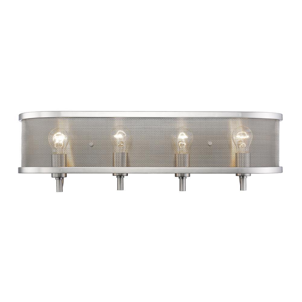 Colson PW 4-Light Pewter Bath Light