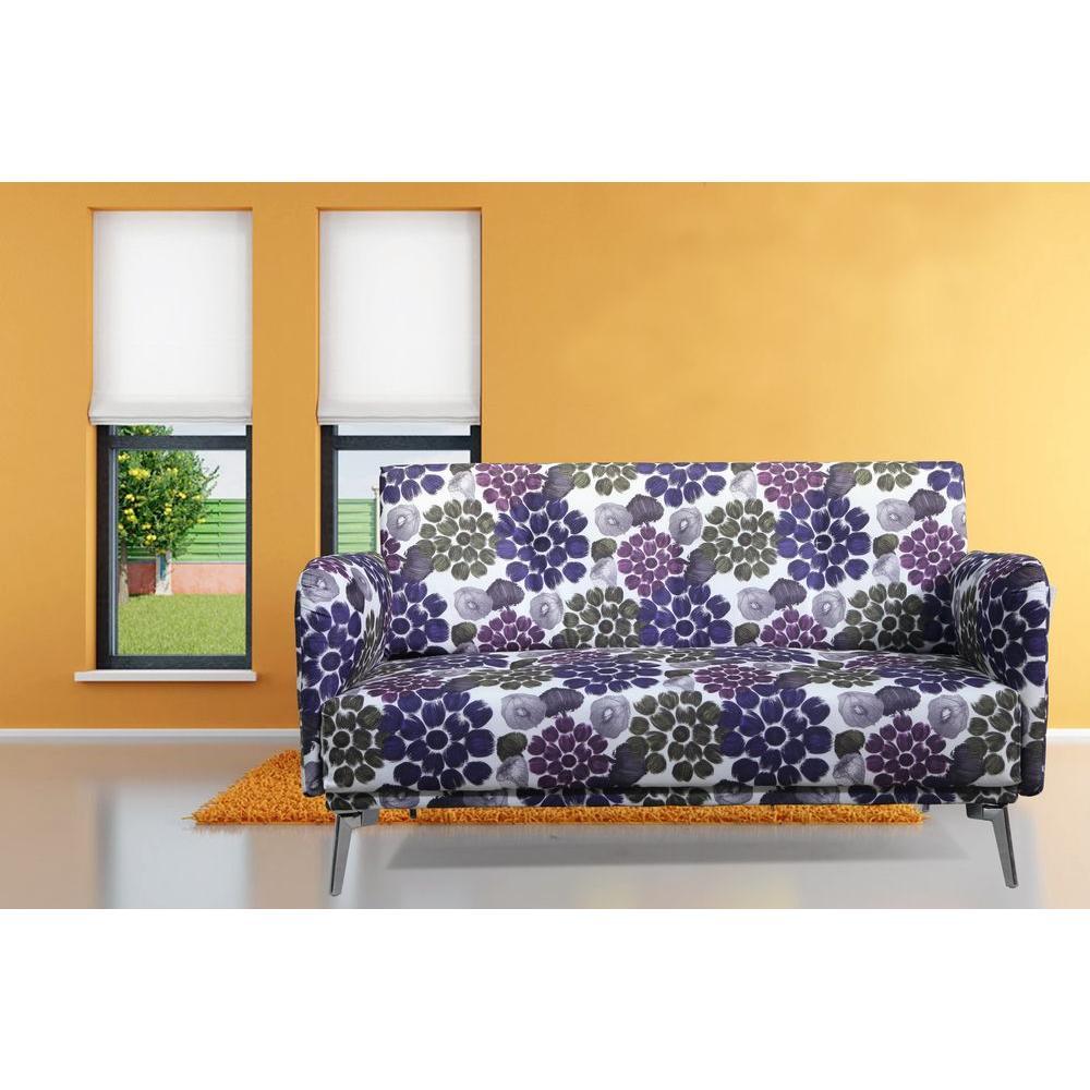 Purple Loveseat by