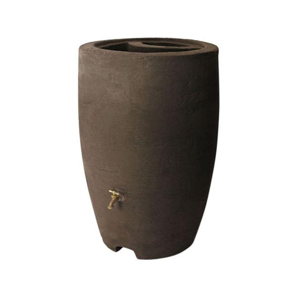 Athena 50 Gal. Brownstone Rain Barrel