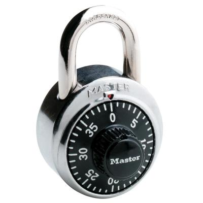 Master Lock 875DLF 2 in  Wide Zinc Set Your Own Combination