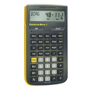 Calculated Industries Construction Master 5 Calculator by Calculated Industries