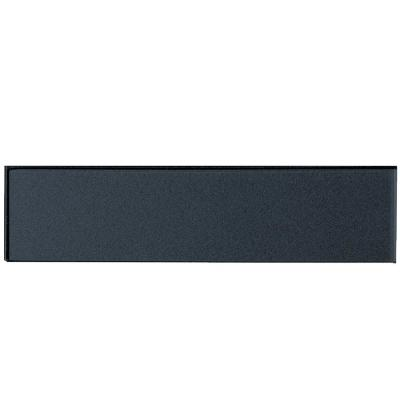 Forever Royal Gray Deco 2 in. x 8 in. Glossy Glass Wall Tile (1 Sq. Ft./Pack)