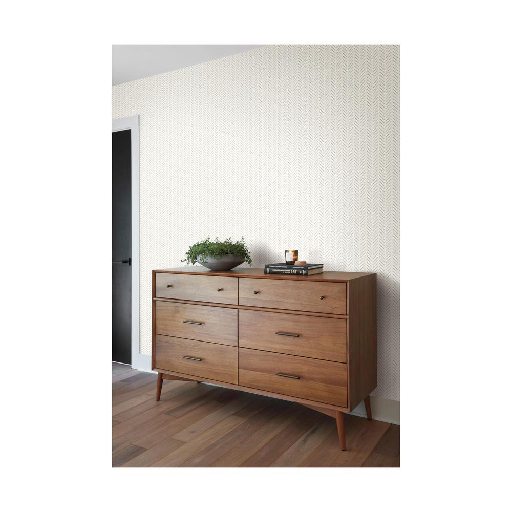 34 sq. ft. Magnolia Home Pick-Up Sticks Peel and Stick Wallpaper