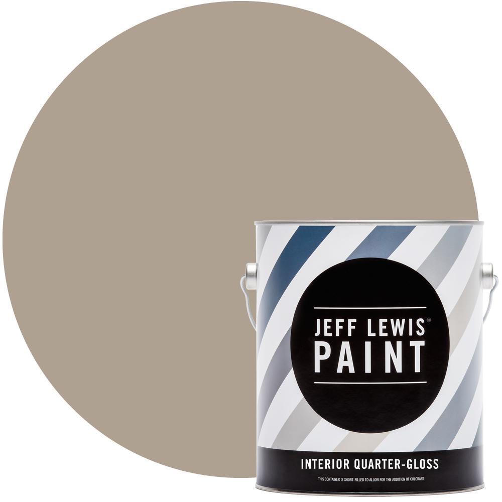 1 gal. #114 Toast Quarter-Gloss Interior Paint