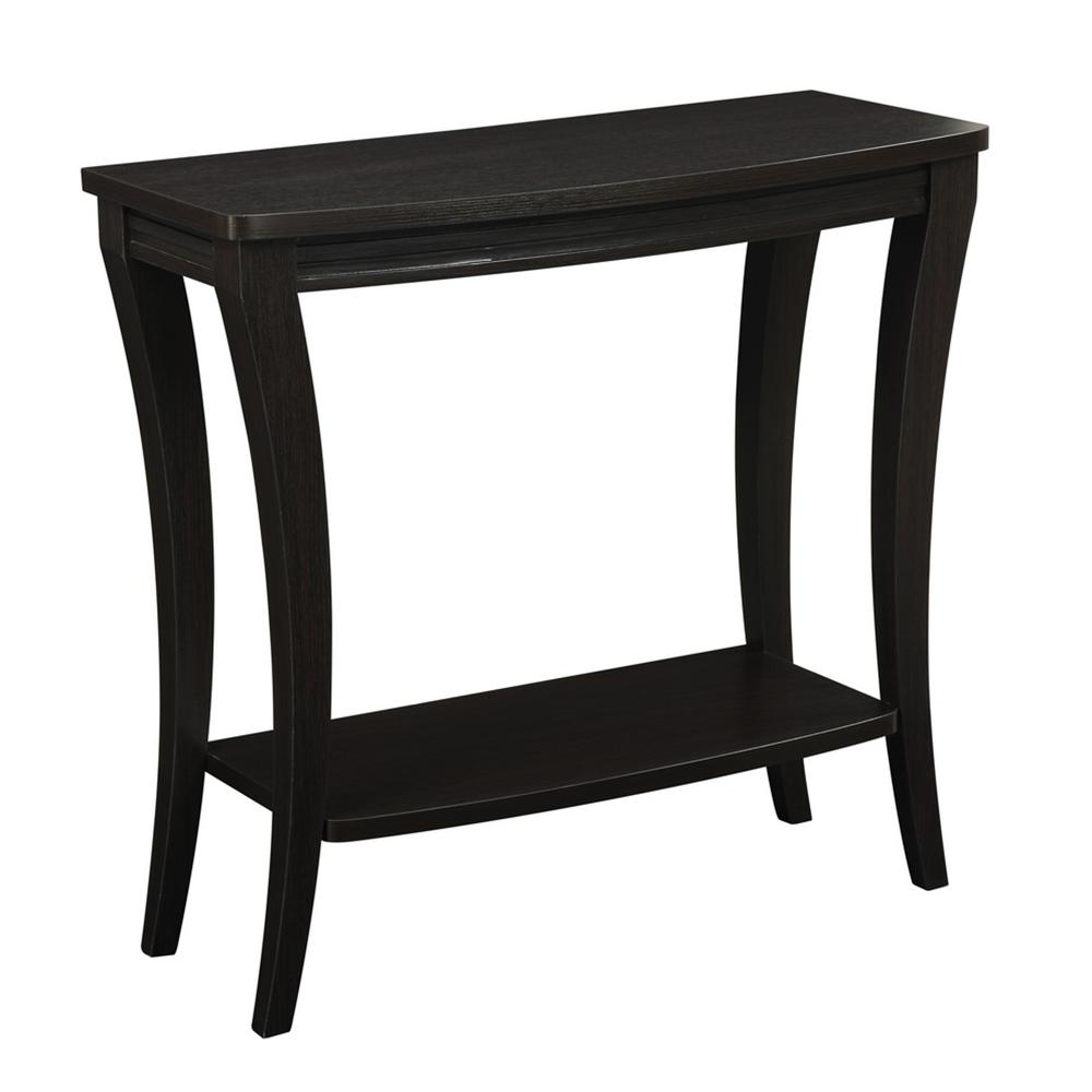 Convenience Concepts Newport Harri Console Table Espresso