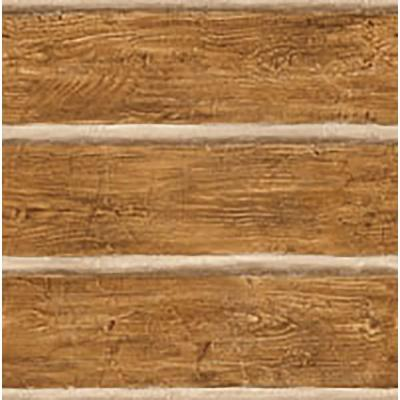 Chinking Chestnut Wood Panel Paper Strippable Roll Wallpaper (Covers 56.4 sq. ft.)