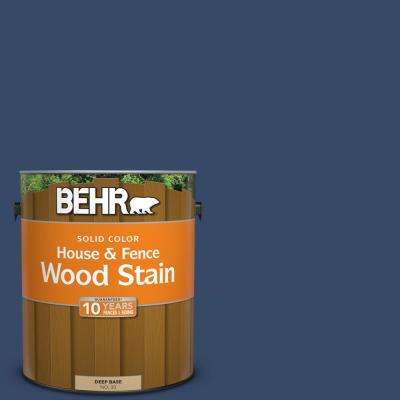 1 gal. #580D-7 Deep Royal Solid Color House and Fence Exterior Wood Stain
