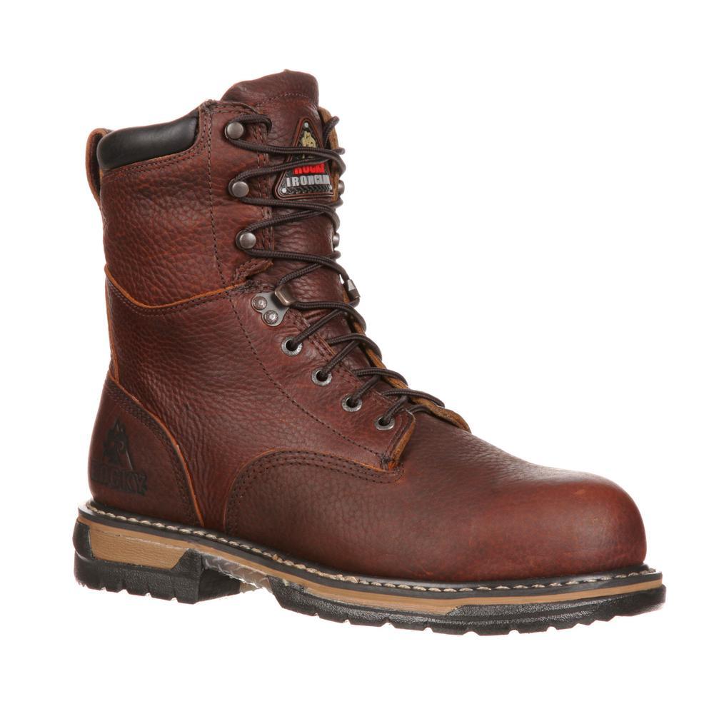 Steel Toed Waterproof Work Boots