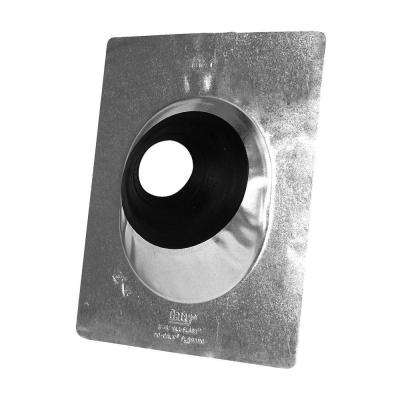 12 in. x 1.29 ft. Aluminum Roof Pipe Flashing