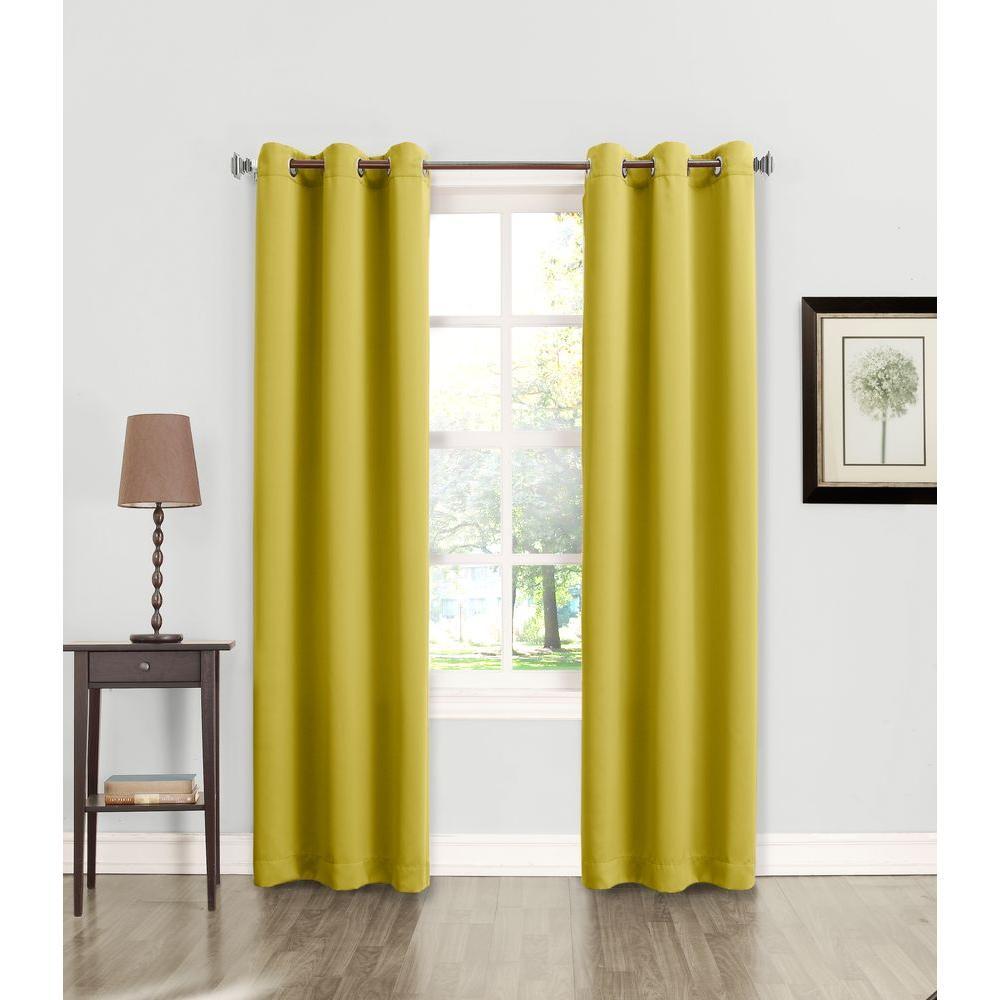 Sun Zero Tovi Room Darkening Curtain Panel
