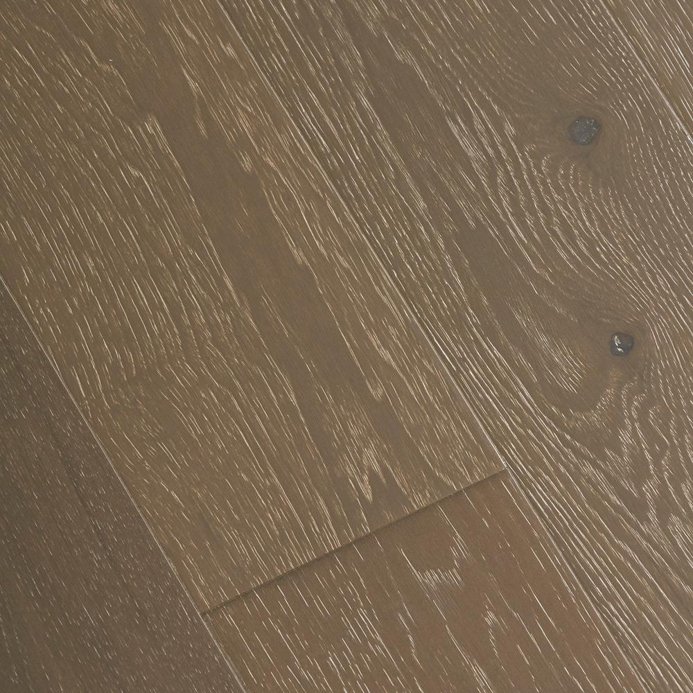 Home Legend Wire Brushed Brisbane Hickory 3/8 in. T x 7-1/2 in. W x Varying L Click Engineered Hardwood Flooring (19.69 sq.ft./case)