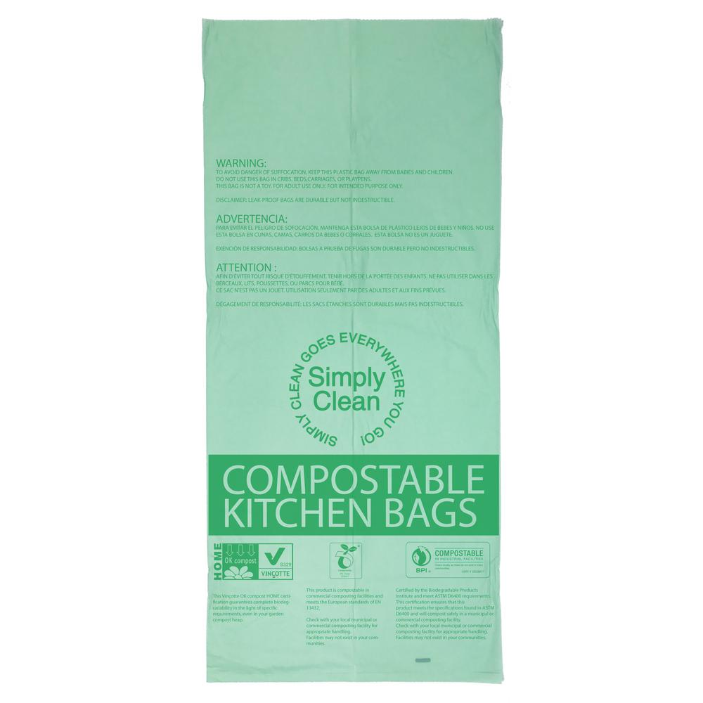 13 Gal. Compostable Trash Bag 25-Count-GW15187 - The Home Depot