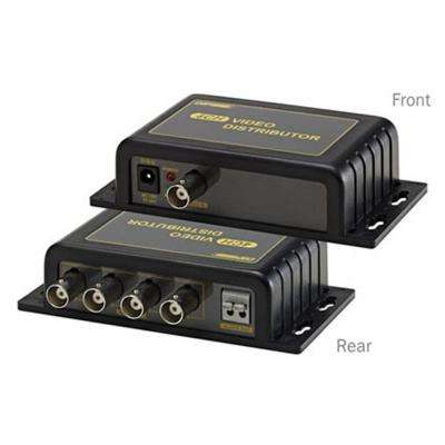 1-Input and 4-Output Video Distributor