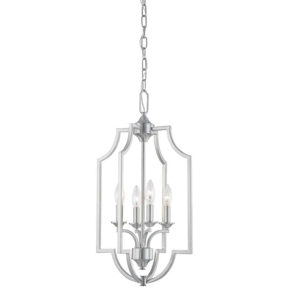 Thomas Lighting Chiave 4-Light Brushed Nickel Chandelier-DISCONTINUED