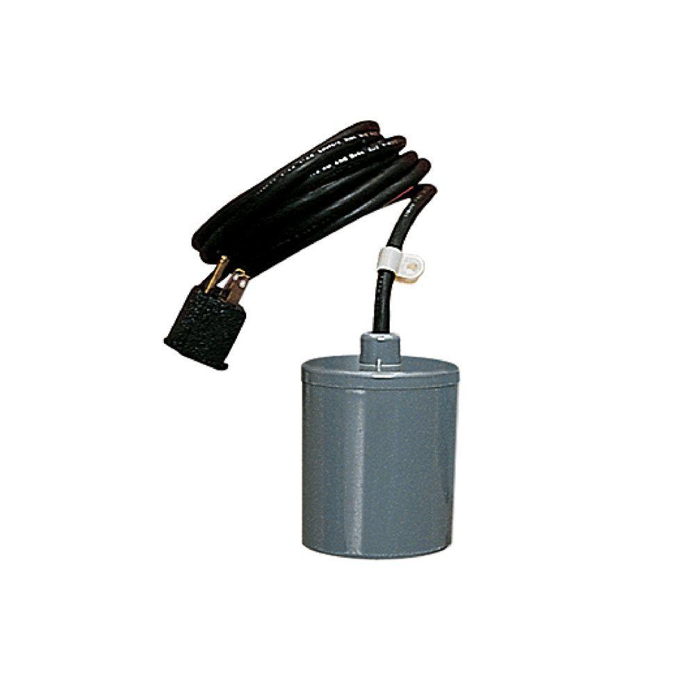 RFSN-9 Piggyback Remote Float Switch for 1/2 HP Manual Pumps