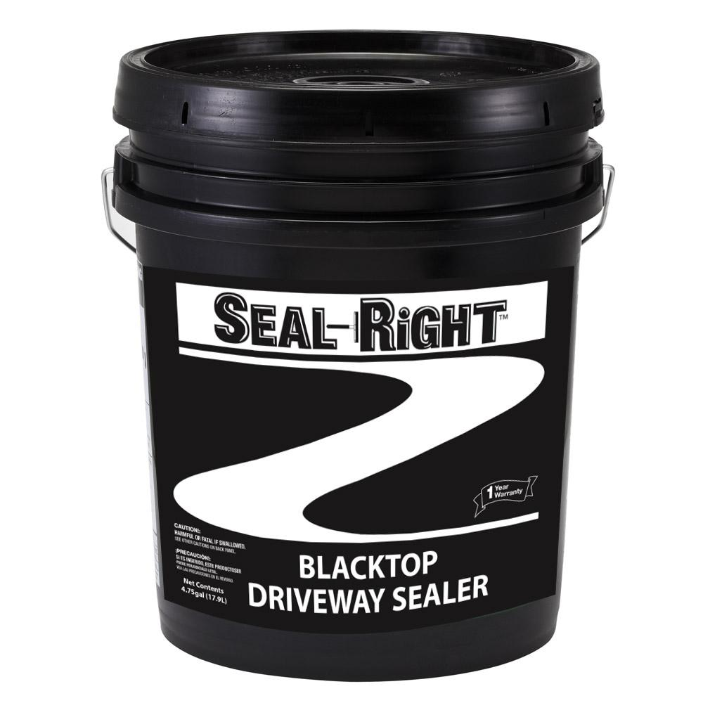Latex Ite 4 75 Gal Seal Right Blacktop Driveway Sealer 11510 The Home Depot