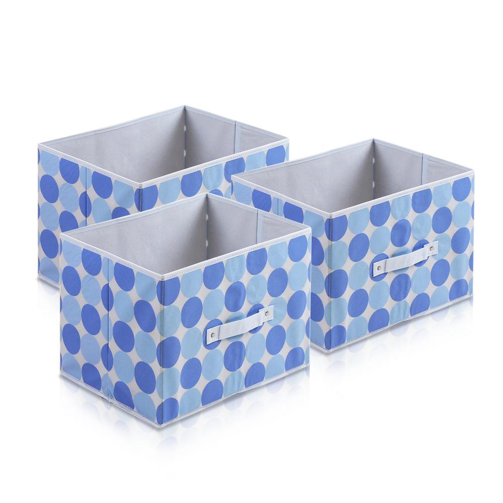 Furinno Laci Blue Fabric Soft Storage Organizer (3-Pack)-3-11144BL ... 1b77f672939f