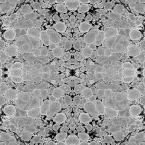 Mitchell Black ABRA Collection Steel Kaleidoscope Removable and Repositionable Wallpaper