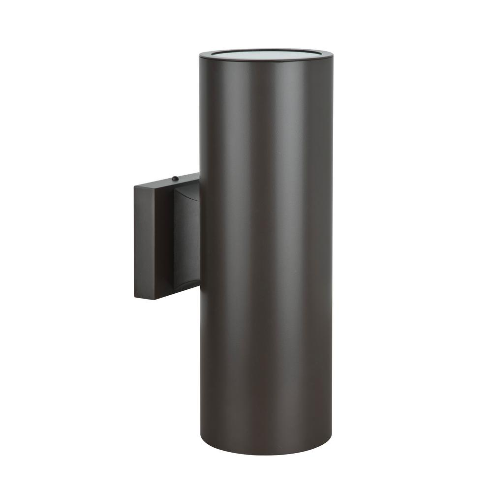 Luminance Architectural Exterior 2-Light Oil Bronze Wall Sconce