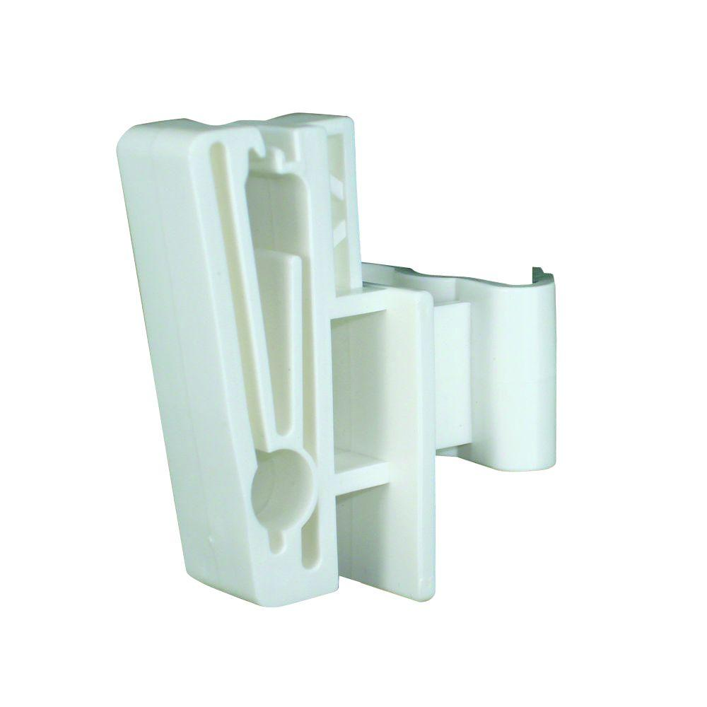 2 in. T-Post Polytape or 3/8 in. Rope Insulator - White