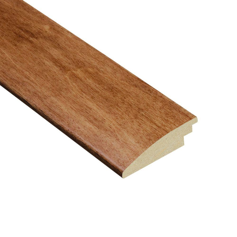 Home Legend Cherry Natural 3/8 in. Thick x 2 in. Wide x 78 in. Length Hardwood Hard Surface Reducer Molding
