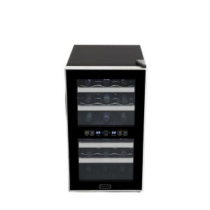 Click here to buy Whynter 18-Bottle Dual Zone Touch Control Stainless Trim Wine Cooler by Whynter.