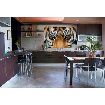 69 in. H x 45 in. W Tiger Wall Mural
