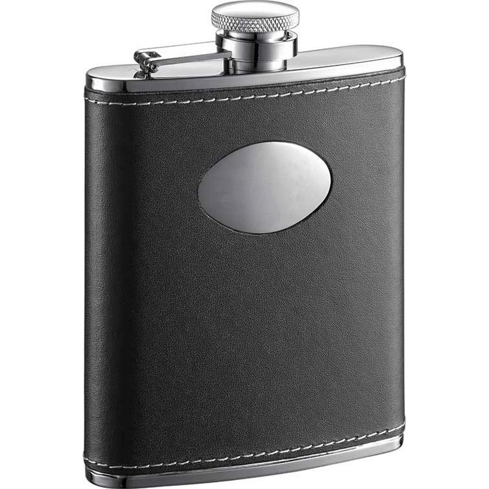 Eclipse Leather 6 oz. Liquor Flask