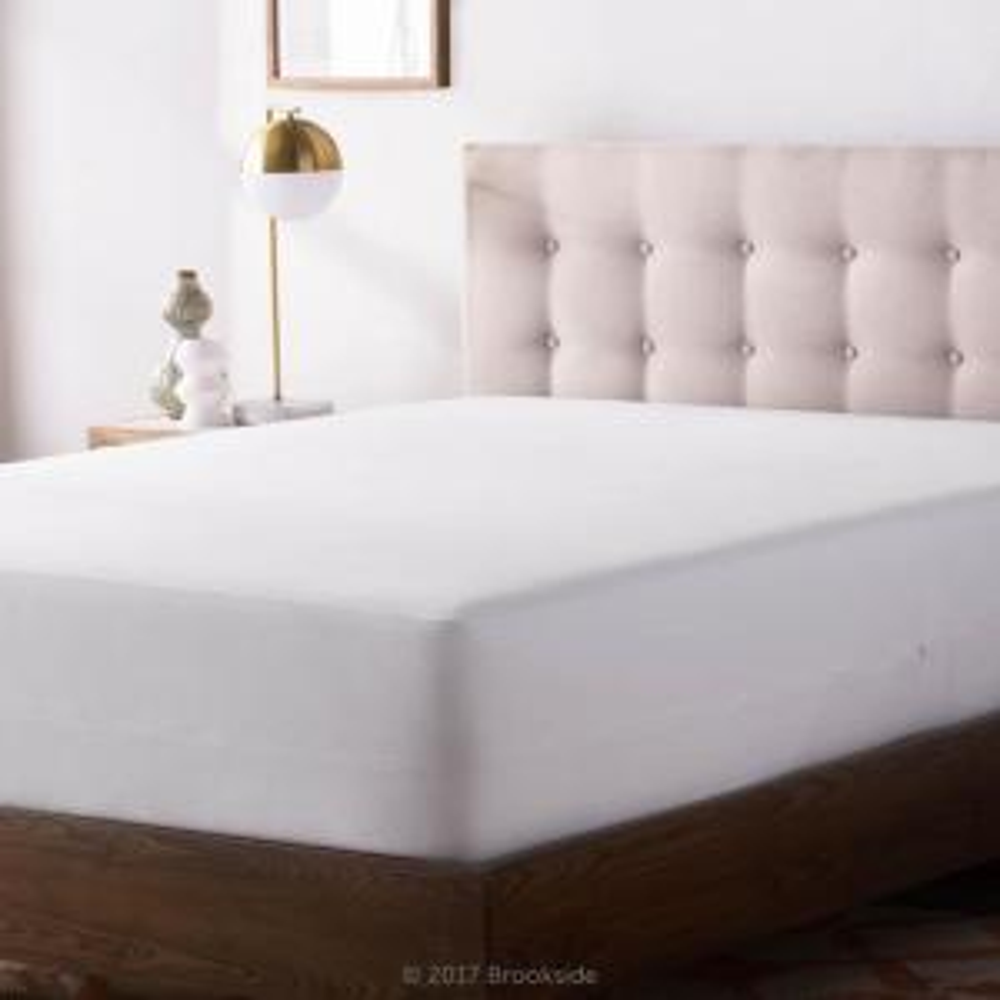 Tencel Jersey Polyester Fabric Encasement California King Mattress Protector