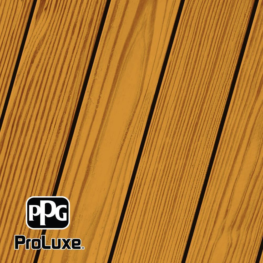 PPG ProLuxe 1 gal. Cedar SRD RE Exterior Transparent Matte Wood Finish