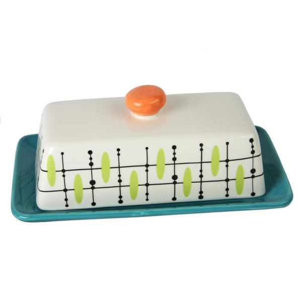Studio California Luminescent Butter Dish with Lid