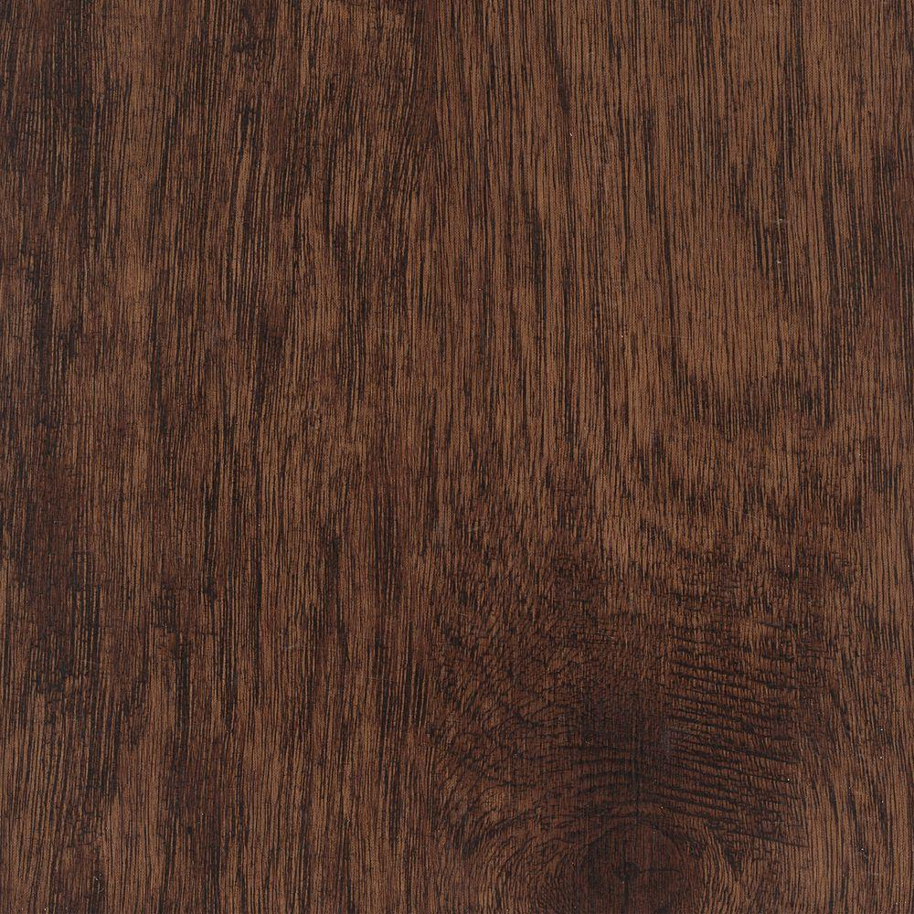 Home Legend Take Home Sample - Hand Scraped Distressed Tavern Hickory Vinyl Plank Flooring - 5 in. x 7 in.