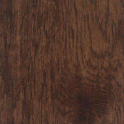 Take Home Sample - Hand Scraped Distressed Tavern Hickory Vinyl Plank Flooring - 5 in. x 7 in.