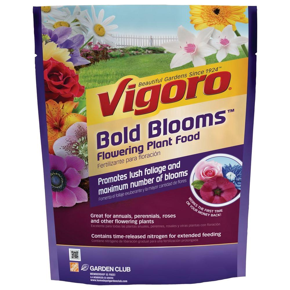 Vigoro Bold Blooms 35 Lb Flowering Plant Food 120232 The Home Depot