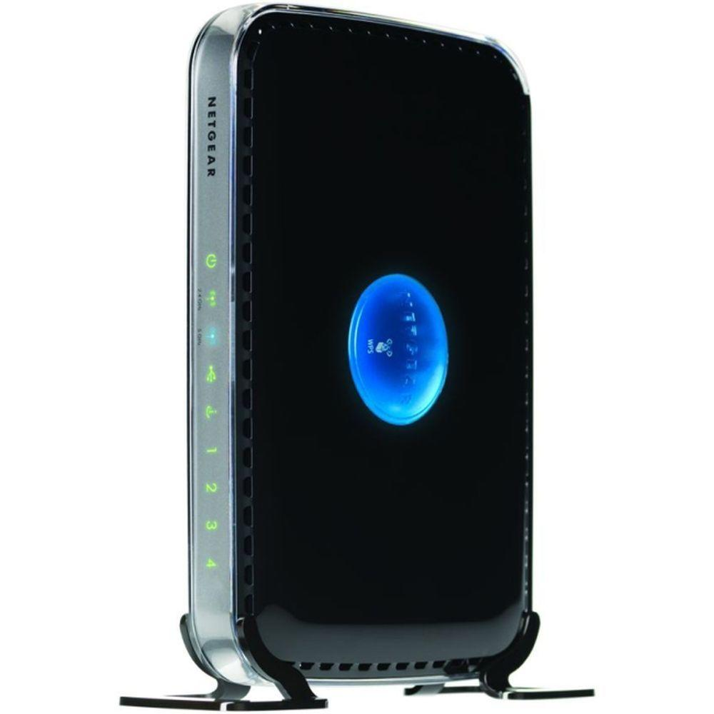 Netgear 802.11n Dual Band N600 WiFi Router Dual band WiFi keeps a strong, steady signal flowing throughout your home. The kids will love speedy online gaming and action movies. And parents will feel secure with free Live Parental Controls for a safer Internet experience. The genie App makes installation and control easy