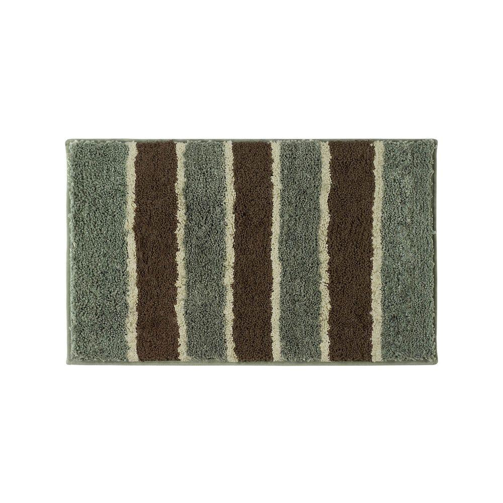 Bathtopia Herald Sage 18 In X 30 Bath Rug Ymb002332 The Home Depot
