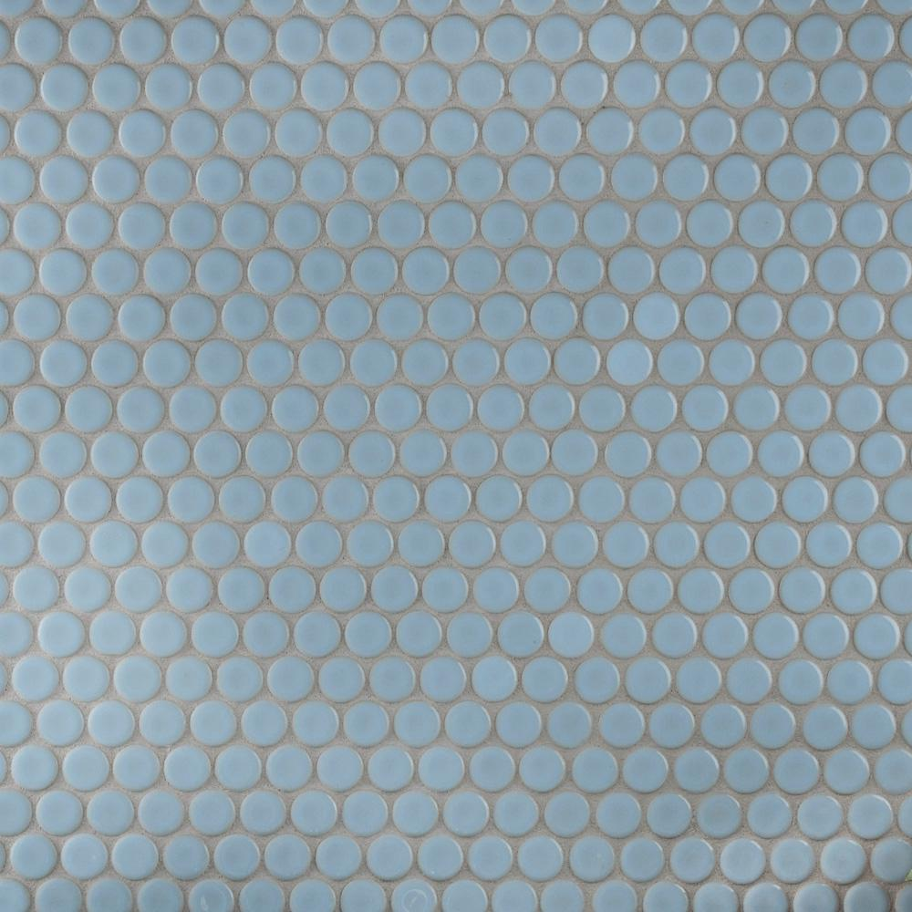 Merola Tile Hudson Penny Round Cashmere