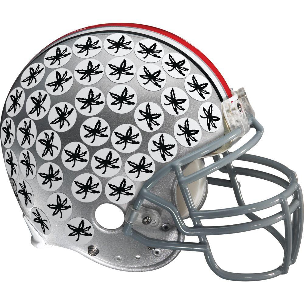 Fathead 53 in. x 50 in. Ohio State Buckeyes Logo Wall Decal