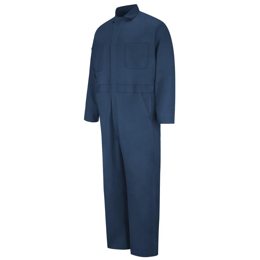 Red Kap Uniforms Men's Size 54 Navy (Blue) Button Front C...