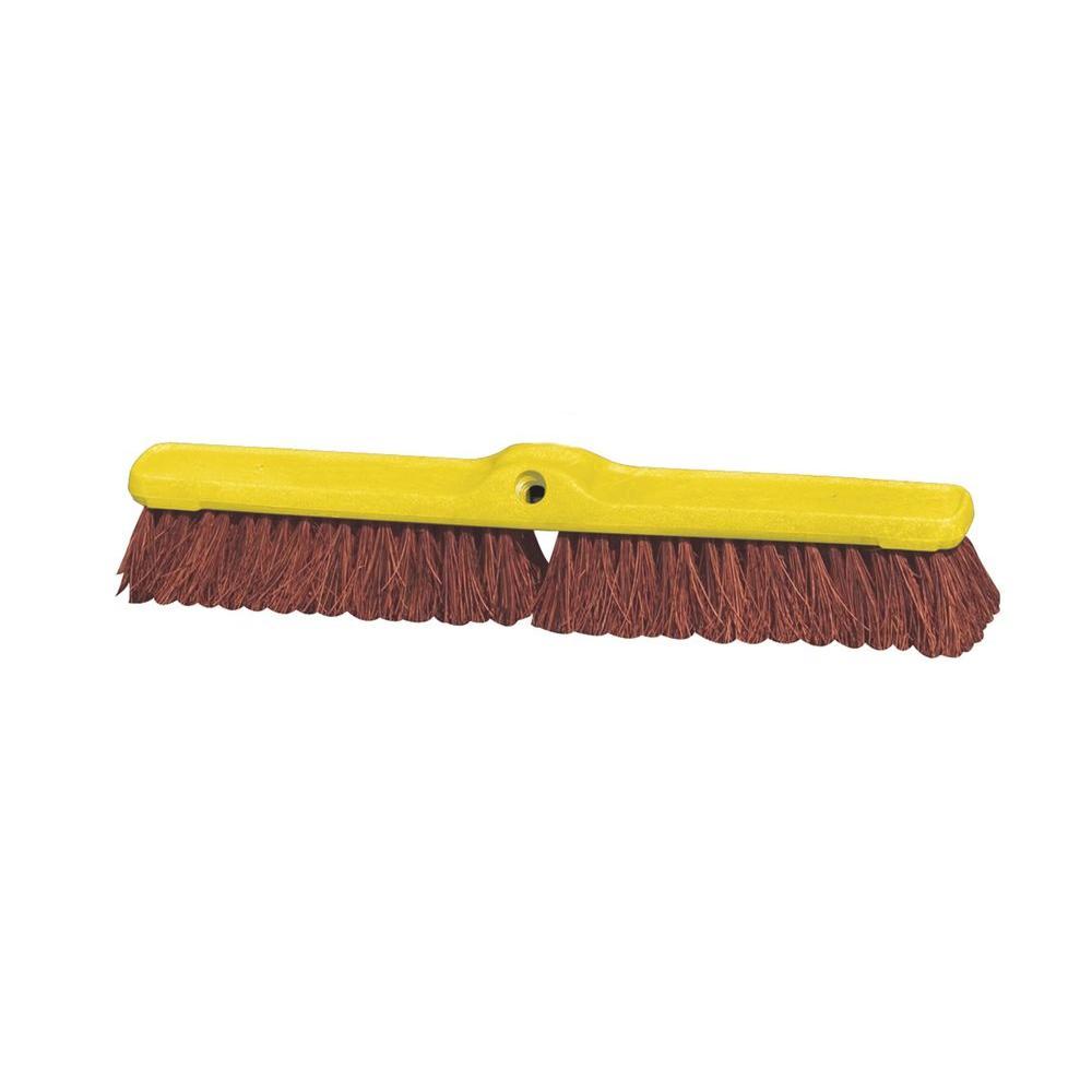 24 in. Heavy-Duty Floor Sweep Broom Head