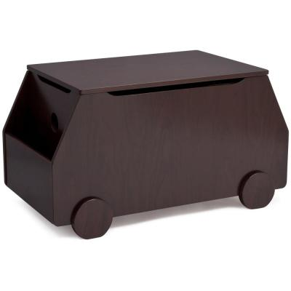 Metro Black Cherry Espresso Toy Box