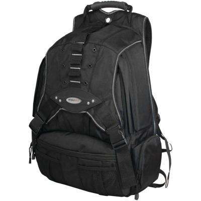 17.3 in. Black/Charcoal Premium Notebook Backpack