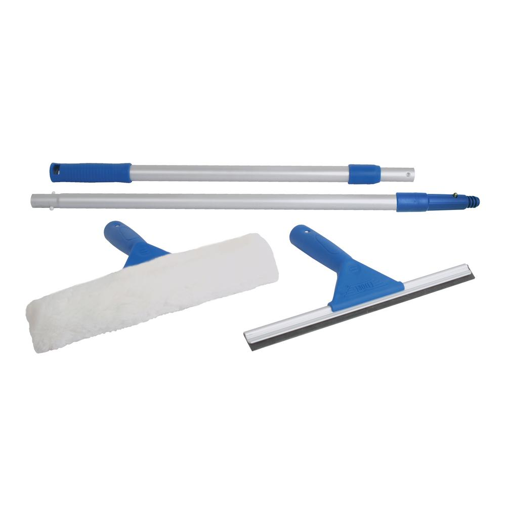 ETTORE All Purpose Window Cleaning Combo Kit