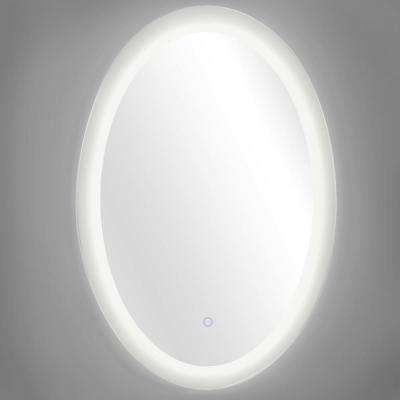Royal 30 in. x 42 in. Oval Round LED Backlit Vanity Bathroom LED Mirror with Touch On/Off Dimmer and Anti-Fog Function