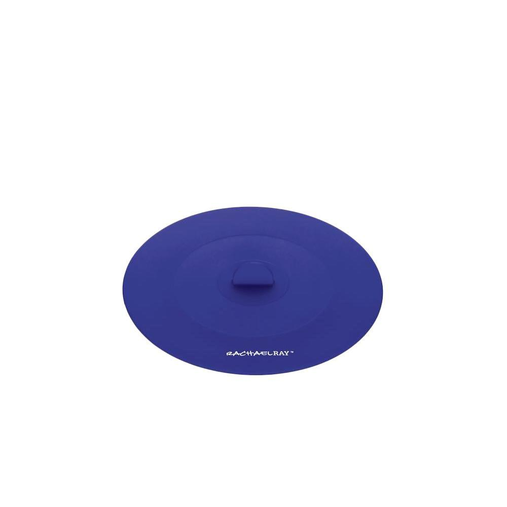 Rachael Ray Tools and Gadgets 7.5 in. Small Suction Lid in Blue